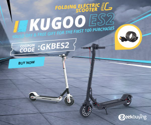 KUGOO ES2 Folding Electric Scooter Sale