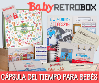 Cápsula del tiempo para bebés Baby Retrobox