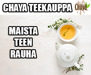 Teekauppa suomalainen nettikauppa Chaya - maista teen rauha