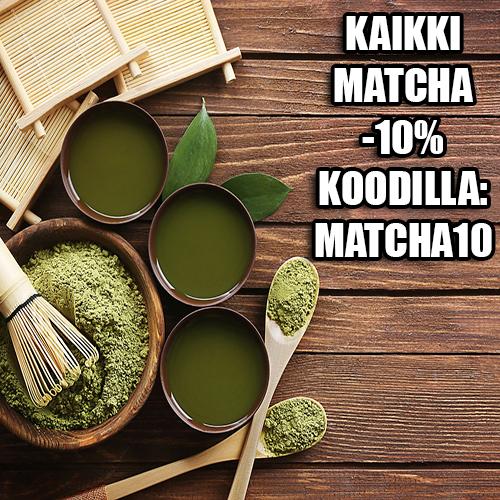 Matcha -10% koodilla: MATCHA10
