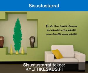 Sisustustarrat tekee Kylttikeskus.fi