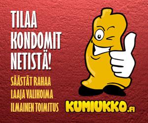 Tilaa kondomit netistä - Kumiukko.fi kondomien kotimainen verkkokauppa