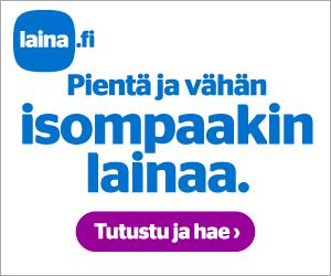 Laina.fi kulutusluotto heti tilillesi - hae lainaa