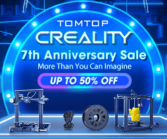 Up To 50% OFF For Creality 7th Anniversary Sale