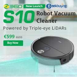 360 S10 Robot Vacuum Cleaner Sale
