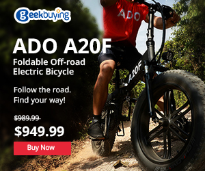 ADO A20F foldable off road electric bicycle