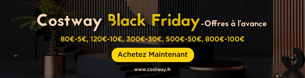 2020 Offres Black Friday à l'avance