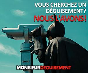 Code promo Monsieur Déguisement : 5% de réduction