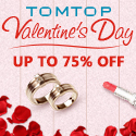 Grab 2019 Valentine's Day gift, Up To 75% Off  onTomtop.Com