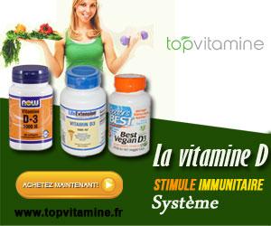 Vitamine D - Topvitamine.fr