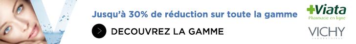 30% de réduction sur toute la gamme Vichy