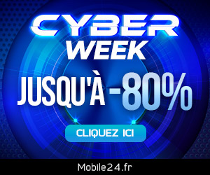 Que diriez-vous d'une Cyber Week ? Jusqu'à 80% de réduction