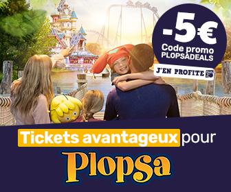 Combi Plopsaqua + Mayaland Indoor à €21,50