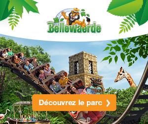 Offre special parc d'attractions Bellewaerde Belgique