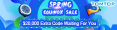 TOMTOP : Spring Equinox Sale, Up To 90%