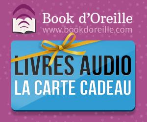 Offrez des livres audio avec la carte Cadeau Book d'Oreille.