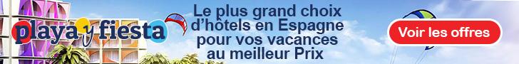 Le plus grand choix d'h�tels en Espagne pour vos vacances au meilleur Prix