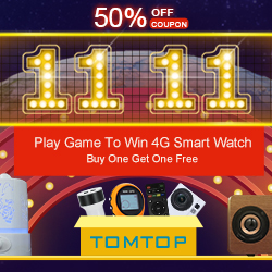 Tomtop 11.11 : Up to 50% OFF