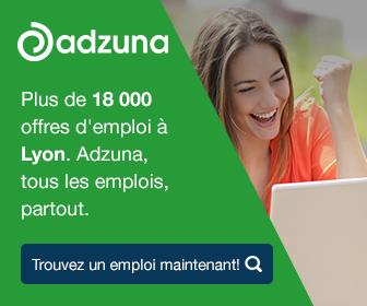 Plus de 18 000 offres d'emploi à Lyon. Adzuna, tous les emplois, partout.