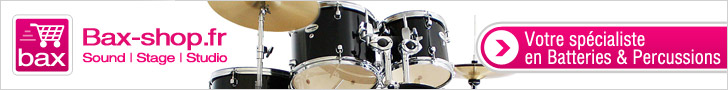 Bax-shop.fr -  Batteries & Percussions