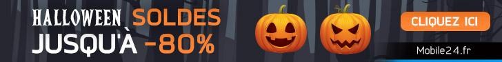 Réductions terrifiantes d'Halloween