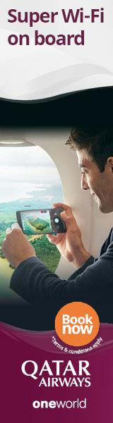 Qatar Airways Super WIFI