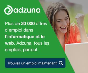 Plus de 20 000 offres d'emploi dans l'informatique et le web. Adzuna, tous les emplois, partout.
