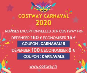 Costway Day Pre-Heat Sale-réduction de 5% sur tous