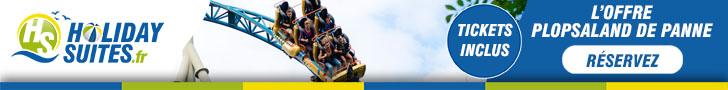 Réservez maintenant vos vacances en famille et recevez des tickets d'entrée gratuits pour Plopsaland La Panne!