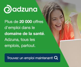 Plus de 20 000 offres d'emploi dans le domaine de la santé. Adzuna, tous les emplois, partout.