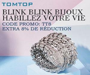 Blink Blink bijoux Habillez votre vie Code promo: TT8 EXTRA 8% de réduction
