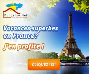 Location Bungalow Vacances avec piscine en France