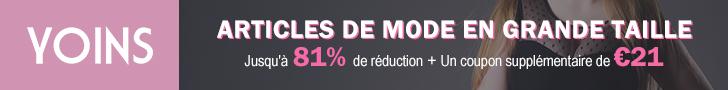 ARTICLES DE MODE EN GRANDE TAILLE Jusqu'à 81% de réduction+Un coupon supplémentaire de €21