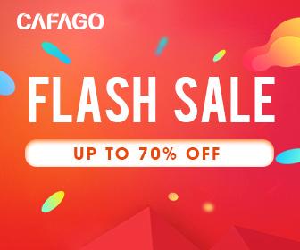 Offres flash: jusqu'à 70% de réduction sur cafago.com