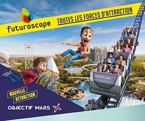 Homepage Futuroscope