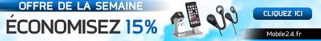 Offre de la semaine - 15 % de réduction. Ne manquez pas ces promotions.