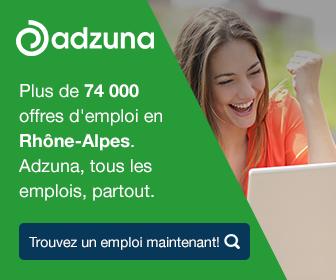 Plus de 74 000 offres d'emploi en Rhône-Alpes. Adzuna, tous les emplois, partout.