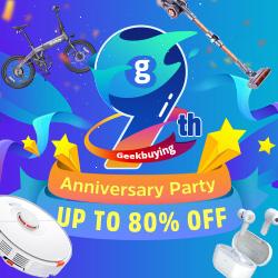 Geekbuying 9th Anniversary Sale