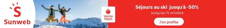Vente Flash 50% de réduction