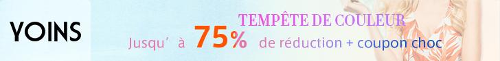 Suppelémentaire 15% de réduction pour la commande €64+, Coupon Code: COOL