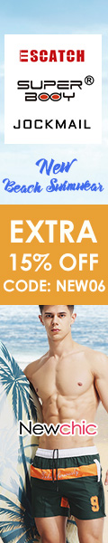 Extra 15% Off Men's Swimwear at New Chic