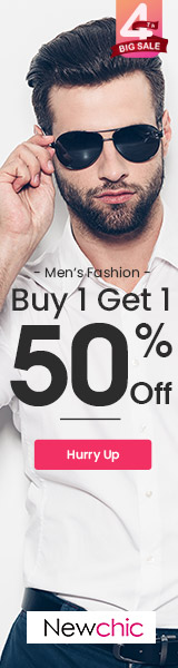 Men's fashion sale at New Chic