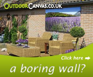 have you had enough of your boring garden walls?