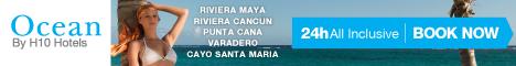 Ocean by H10 Hotels in Cuba, Dominican Republic & Mexico