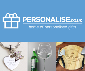 Personalise.co.uk 300 x 250 Block Banner 1