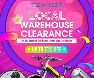 Up To 71% Off For Local Warehouse Clearance Sale 2020 : enjoy rapid delivery and big discount