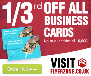 33% OFF ALL BUSINESS CARDS