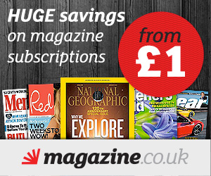 Magazine subscriptions from £1 at magazine.co.uk