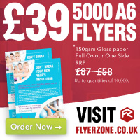 33% off A6 flyers