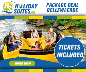 Stay at Holiday Suites and receive free Bellewaerde tickets for the whole family!
